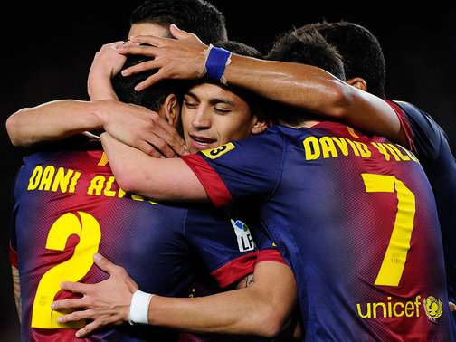Barcelona-v-Deportivo-Alexis-Sanchez