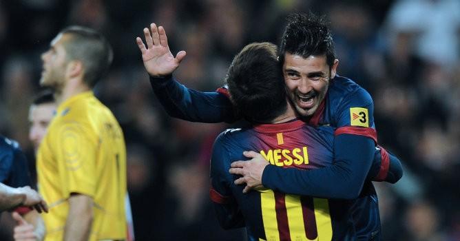 David_Villa_y_Leo_Messi