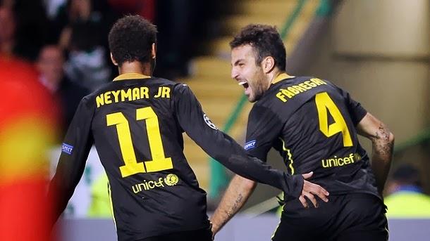 Celtic vs FC Barcelona 0-1